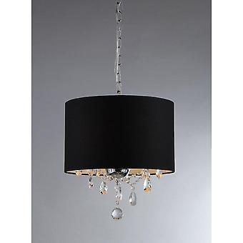 Brim 3-light Crystal Chandelier