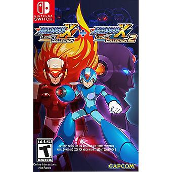 Mega Man X Legacy Collection 1 und 2 - Switch Spiel