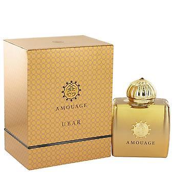 Amouage Ubar Eau De Parfum Spray By Amouage 3.4 oz Eau De Parfum Spray