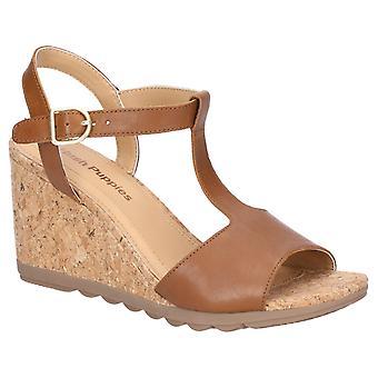 Hush puppies women's pekingese tstrap buckle sandal various colours 28415