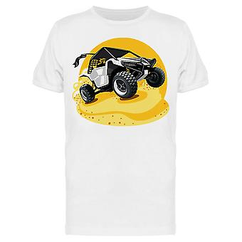 Off-Road Atv Buggy Rides On Sand Tee Men's -Bild von Shutterstock