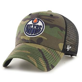 47 המותג Snapback כובע-ברנסון אדמונטון Oילרס עץ הסוואה