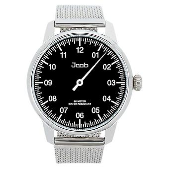 Jcob Einzeiger JCW002-SS01 Black Men's Watch