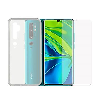 Tempered Glass Mobile Screen Protector  Mobile Case Xiaomi Redmi Note 7 Contact TPU