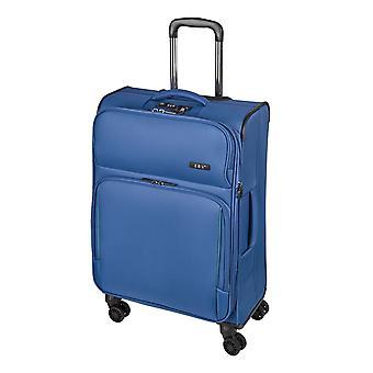 d&n Línea de viaje 7904 Carro M, 4 ruedas, 66 cm, 70 L, Azul