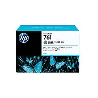 Hp Ink Cartridge No 761 400Ml Dark Gray Designjet