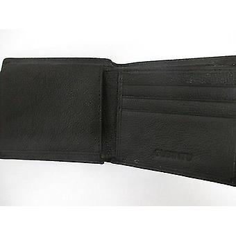 RFID Blocking Real Leather Wallet Holder Slim Gents Money Credit Card Oyster