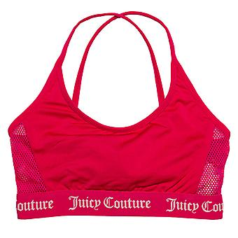 Mädchen's Juicy Couture Junior juicy Schwimmen Bikini Top in rosa