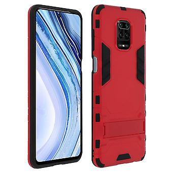 Protective Cover Xiaomi Redmi Note 9S/9 Pro/9 Pro Max Shockproof Video Red