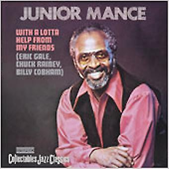 Junior Mance - With a Lotta Help From My Frie [CD] USA import