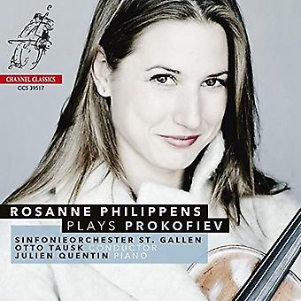 Philippens*Rosanne - Rosanne Philippens Plays Prokofiev [CD] USA import