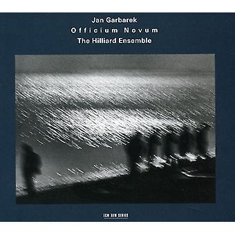 Garbarek, Jan/Hilliard Ensemble - Officium Novum [CD] USA import
