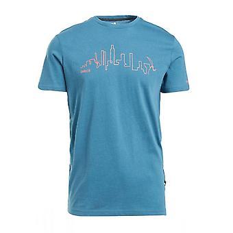 Våga 2B Män & apos; s Dela Grafisk T-Shirt Blå