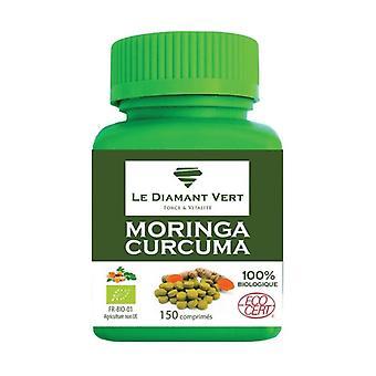 Moringa & organic turmeric 150 tablets