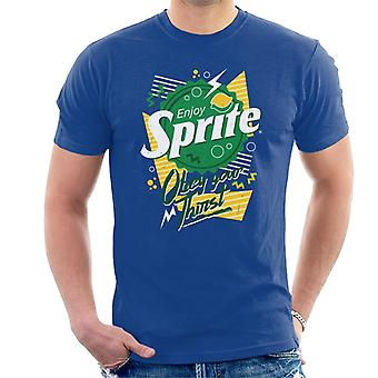 Sprite 90s Bottlecap Obey Your Thirst Men's T-Shirt
