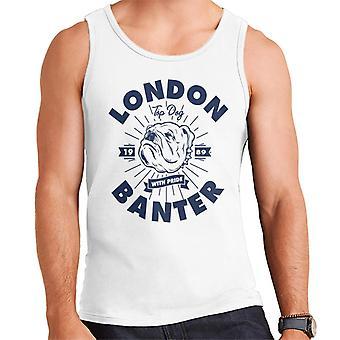 London Banter Bulldog Pride Men ' s Vest