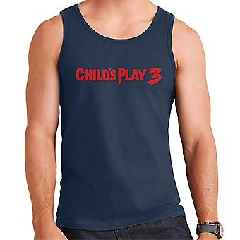 Chucky Childs Play 3 Klassische Logo Männer's Weste