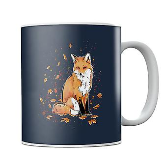 Fox In The Night Mug