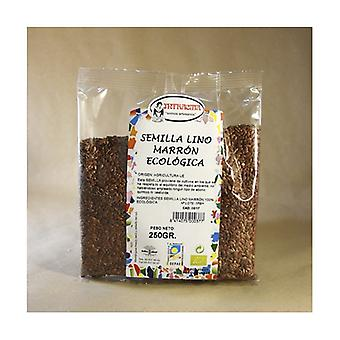 Ecological Brown Flax Seeds 250 g