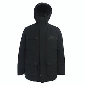 Barbour international men's black endo jacket