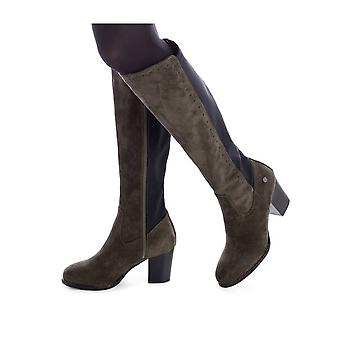 Xti - Shoes - Boots - 48599_KAKHI - Ladies - darkolivegreen - EU 37