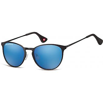 Sunglasses Unisex Cat.3 Black/Blue (MS88)