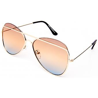 Sunglasses Unisex Cat.0 gold/brown (19-201)
