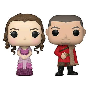 Harry Potter Hermione & Krum (Yule) US Exclusive Pop 2-pack