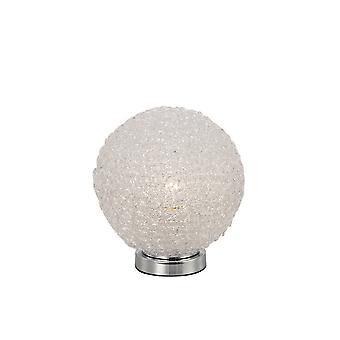 Geïnspireerde Mantra Fusion - Bola - Tafellamp 20cm Ronde 1 x E27, Chroom