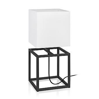 1 Light Indoor Table Lamp Black, E27