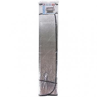 zonnescherm 180 x 90 cm metallic zilver