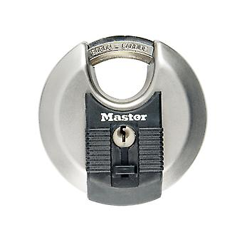 Master Lock Excell Roestvrijstalen Discus 70mm Padlock MLKM40