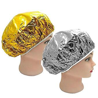 Heat, Aluminum Foil , Waterproof Ultra Thin Bath Hoods / Shower Cap -