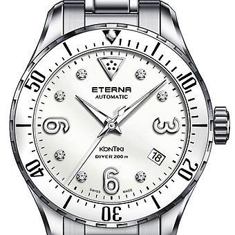 Luxury Auto Eterna Eternity Kontiki Diver, St-Steel Watch for Woman 128041661733