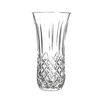 RCR Crystal Opera Cut Glass Table Centrepiece Vase - 25cm Decorative Flower Vases