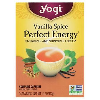 Yogi Vanilla Spice Perfect Energy, 16 bags, 1.12 oz (32 g)