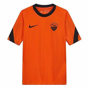 2020-2021 ローマトレーニングシャツ(オレンジ)