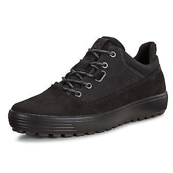 ECCO 450254 لينة 7 Tred الرجال & ق هيدروماكس الدانتيل متابعة الأحذية باللون الأسود