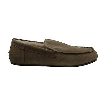 Vince Mens Gino Suede Closed Toe Slip On Slippers