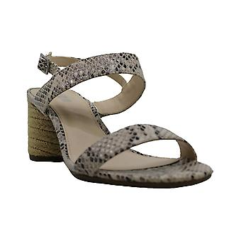 Bar III Womens Brooklyn Leather Open Toe Casual Ankle Strap Sandals