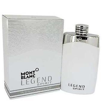 Montblanc Legend Spirit By Mont Blanc Eau De Toilette Spray 6.7 Oz (men) V728-541997