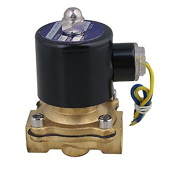 12V DC 1/2Inch Electric Solenoid Valve Water Air N/C Gas Water Air 2W160-15