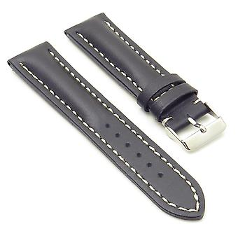 Strapsco dassari transit heavy padded italian leather strap