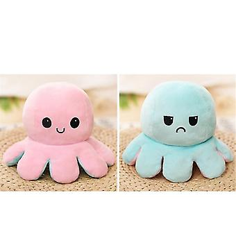 Creative Flip Octopus Stuffed Plush Doll Different Sides To Show Reversible