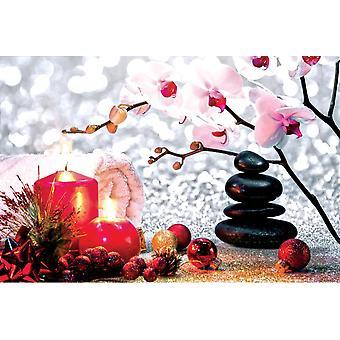 Wallpaper Mural Christmas Spa Massage Co