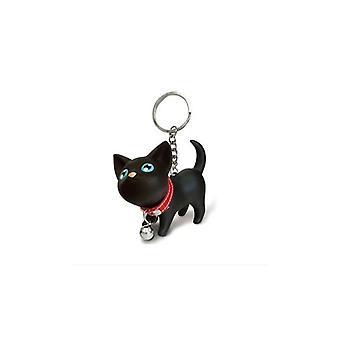 Grazioso portachiavi per auto pendente per borse gatto