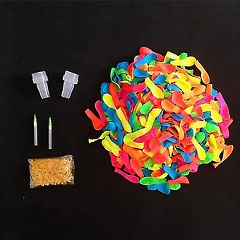 1000pcs Water Balloons With Easy Refill Latex Set