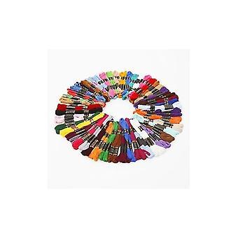 50 Hilo de coser del bordado Madejas Floss - Mixed Colores 100% Algodón
