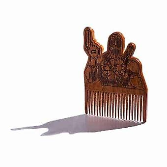 Deadpool Wooden Beard Comb
