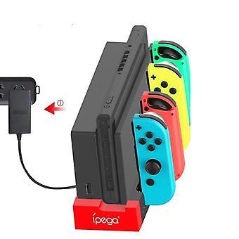 Controller Ladegerät Ladedock - Stand Station Halter für Nintendo Switch